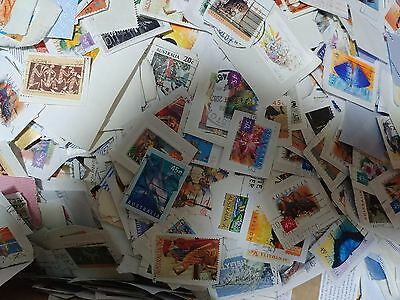 100g Australian Collection Used Postage Stamps on paper Bulk Kiloware