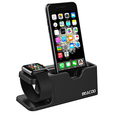 Apple Watch Stand Charging Dock iWatch Cradle Holder iPhone Station 38mm 42mm