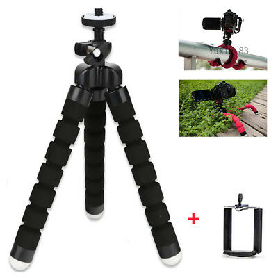 Portable Mini Flexible Foam Tripod Octopus Stand Hold For DSLR SLR Camera Phone
