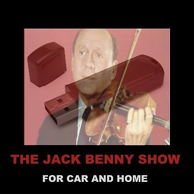 Enjoy Jack Benny In Your Car Or Home. 959 Old Time Radio Shows, Interviews, More
