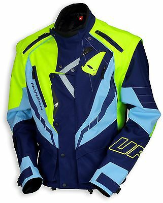 UFO 2018 Ranger MX Enduro Jacket - Blue Neon Yellow - Medium