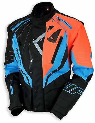 UFO 2018 Ranger MX Enduro Jacket - Black Blue Orange - Large