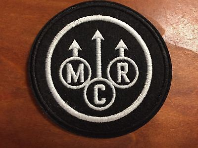 """MY CHEMICAL ROMANCE MCR- Logo Patch - Embroidered Iron On Patch 3 """""""