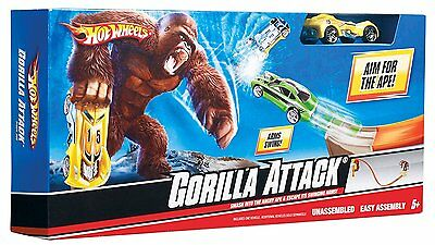 Hot Wheels Gorilla Attack Track Set By Mattel Includes Hot Wheel Car New Boxed