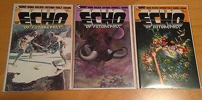 ECHO OF FUTUREPAST CONTINUITY GRAPHICS # 1-6 1st APPEARANCE OF BUCKY O' HARE