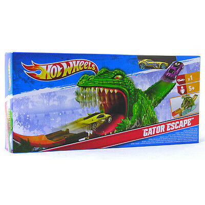 Hot Wheels Gator Escape Track Set By Mattel Includes Hot Wheel Car New Boxed