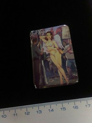 Pin Badge PIN-UP SEXY GLAMOUR By ANDREI TARUSOV** Metal Limited Séries. Scarce !
