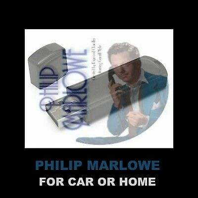Enjoy Philip Marlowe In Your Car Or Home! 107 Old-Time Radio Detective Shows