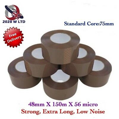 Brown Parcel Packing Tape 48mm*150m*36 micron, Low Noise, Economy, Extra Long