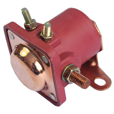 New Red Solenoid Relay 12V Heavy Duty for Ford Starter Car Truck - SW3 - SNL135