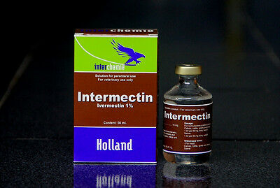 Ivermectin Injection 1% 10ml Dewormer for Calves,Cattle,Goats,Sheep,Swine