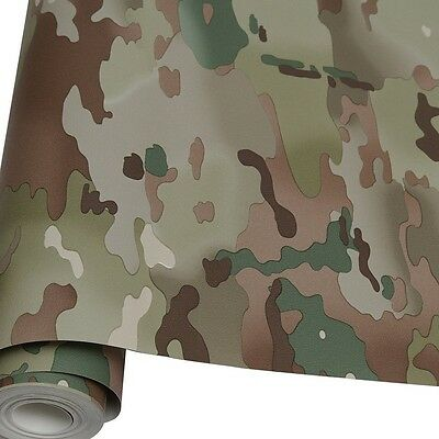 10M Roll Of Army MTP Camouflage Wallpaper Multi Terrain Camo Kids Bedroom Wall