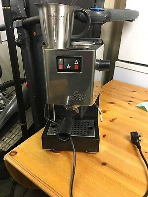 Princess Classic Coffee Maker And Grinder : Gaggia Baby Coffee Machine And Grinder ?80.00 - PicClick UK