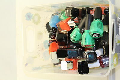 Wholesale Lot of 45 Assorted Nail Polish Sally Hansen,Covergirl, China Glaze