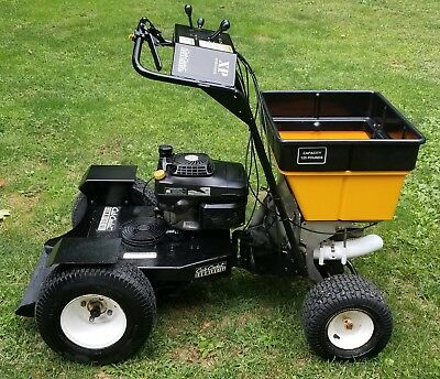 Cub Cadet Xp Ride-On Gas Articulating Spreader Fertilizer Grass Lawn Seed Seeder