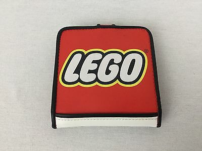LEGO Red Fold-able Childs or Adult Wallet w/ Snap Closure NEAT! RARE!