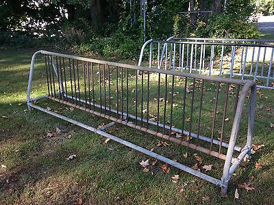 Commercial Bicycle rack Bike old school city municipal institutional Heavy Duty