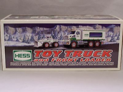 Hess Truck Toy Truck and Front Loader 2008