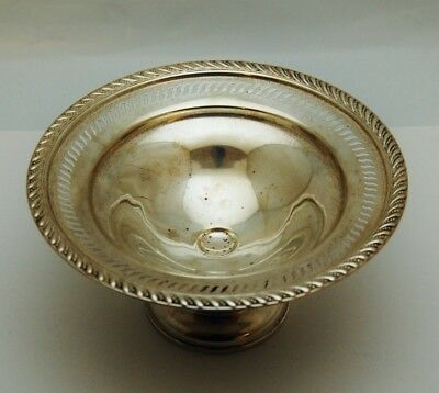 Antique Poole P.S. CO 34 Pedestal Weighted 925 Sterling Silver Candy (LP2032254)