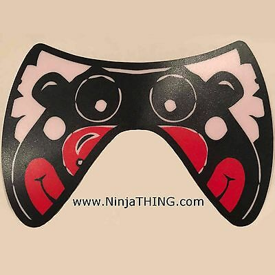 Sound Activated EL Mask, Ninja THING Mask, Light Up Mask, Clown Mask  SEE VIDEO