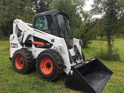 2011 Bobcat S650 Skid Steer Loader Enclosed With Heat /ac  Cheap Shipping Rates
