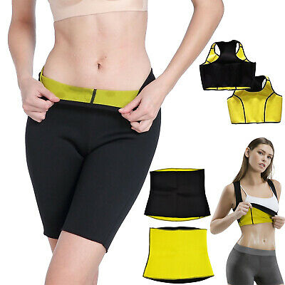 Women Hot Neoprene Body Shaper Slimming Waist Pants Yoga Vest Sweat Sauna pant