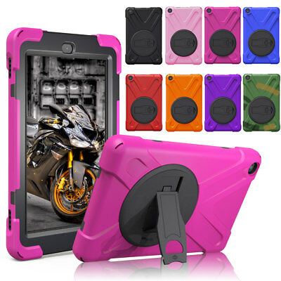 Rotating Shockproof Stand Case Cover For Amazon Kindle Fire HD 8 7th Gen 2017