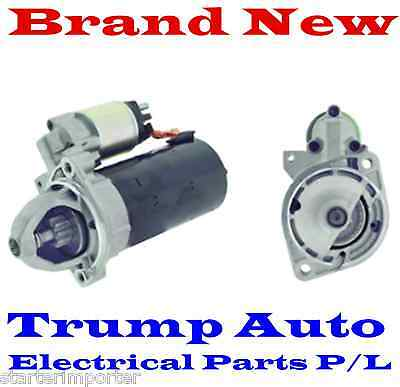 Brand New Starter Motor fit Mercedes 190E W201 engine M103 2.6L Petrol 86-91