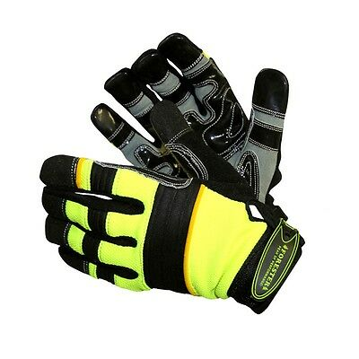 OPG Extra Large High Visibility Gloves with Kevlar
