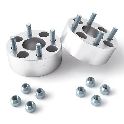 "2pc 2.5"" Thick Yamaha Golf Cart Wheel Spacers (4x4"") metric 12x1.25 Studs YAM"