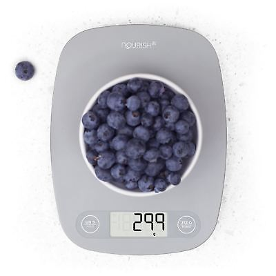 Genuine LCD Compact Digital Kitchen Scale / Food Scale - By Greater Goods