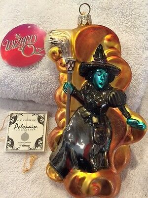 "WIZARD OF OZ Polonaise Christmas ornament ""WICKED WITCH OF THE WEST"", #AP1190"