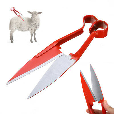 "12"" Sheep Shears Shearing Hand Scissors Cutters Alpaca Cashmere Farming Tool"
