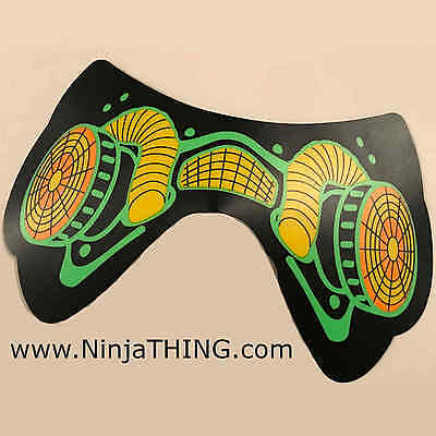 Sound Activated EL Mask, Ninja THING Mask, Light Up Mask, Gas Mask,  SEE VIDEO