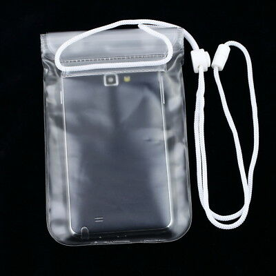 Mobile Phone Waterproof Dry Bag Case Transparent With Scrub for Smartphones BL
