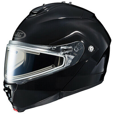HJC IS-MAX II Solid Snow Helmet with Electric Shield Lg Black