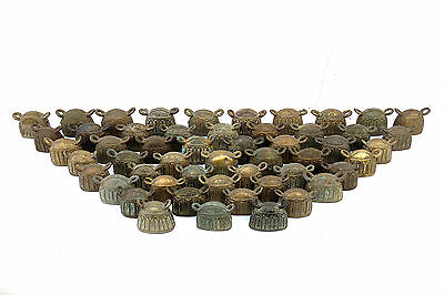 Wholesale 52 Antique bronze water buffalo bell Mix Size Good Quality Don't Miss