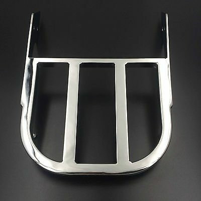 Motorcycle Sissy Bar Luggage Rack Chrome For Honda VTX 1300C VTX 1800C