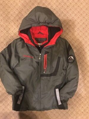 Weatherproof Expedition Boys Winter Ski/Snowboarding Jacket Green Black Sz S(6/7