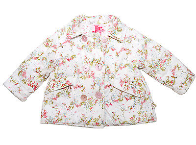 Bebe Baby Girl Winter Warm Soft Padded Jacket Size 1 (fits 18 months)