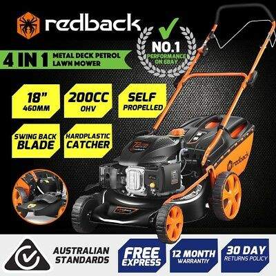 """Redback S461-VHYX18"""" M/C Mower With side discharge,S/P Was$489 Now$375"""