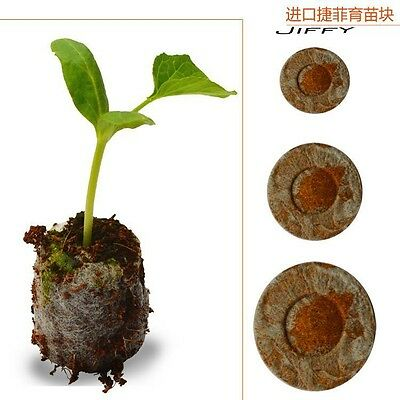 1pcs Count 30mm Jiffy Peat Pellets Seed Starting Plugs, Seeds Starter pallet,see