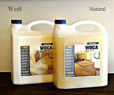 WOCA Holzbodenseife natur oder weiß 5L, Woca soap white or natural