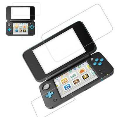 Tempered Glass Screen Protector Film ( Top + Bottom)For New Nintendo 2DS XL LL