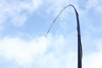 """10m Portable Telescopic Antenna Mast Support """"Heavy"""" with Guy Plate"""