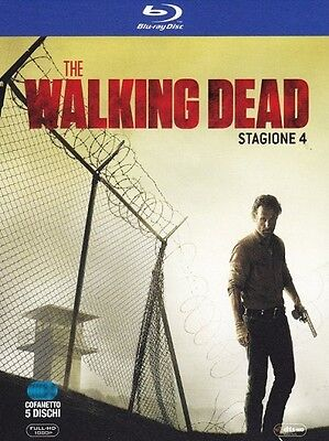 The Walking Dead - Stagione 4 - 5 Blu-Ray - Cofanetto Nuovo, Originale