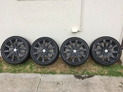 """18"""" Wheels And Tyres"""