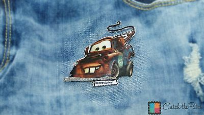 Disney pixar cars Mater tow truck lorry iron-on patch embroidered logo tw