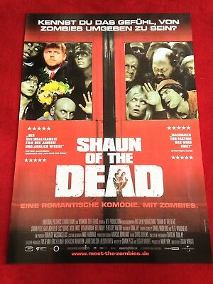 Shaun of the Dead Kinoplakat Poster A1, Simon Pegg, Nick Frost, Bill Nighy