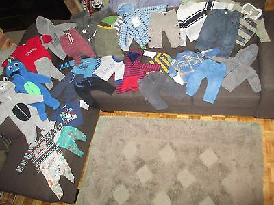 Bulk lot boys sz 0 winter clothes: Pumpkin Patch/Baby GAP/Esprit/Baby Berry/Tilt